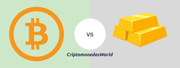 Criptomonedas-comparativa-Oro-Materia-Prima-Commodity-Gold