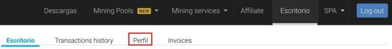 minergate-menu-perfil-activar-2fa-seguridad