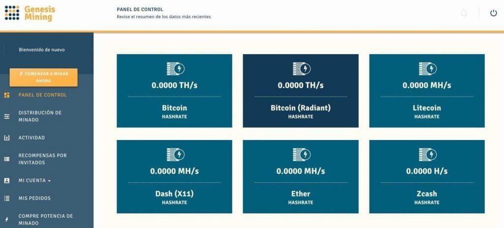 panel-control-configuracion-cuenta-Genesis-Mining