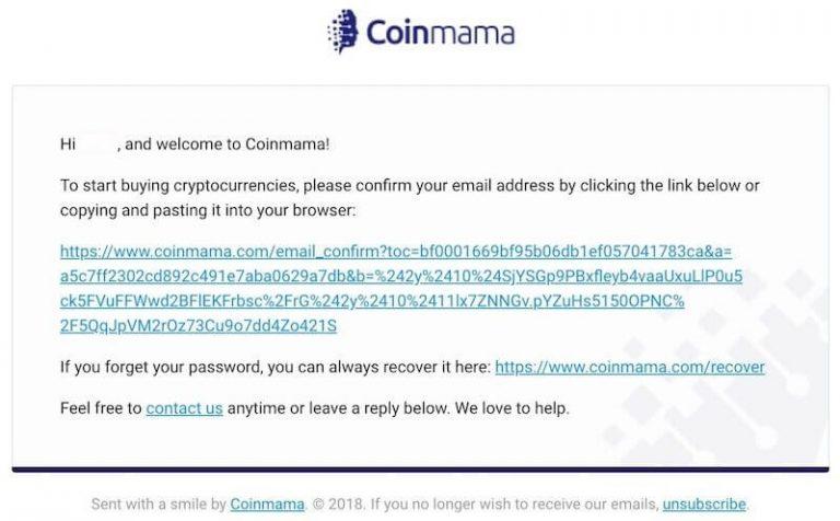 verificacion-de-correo-electronico-en-Coinmama
